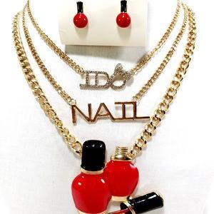 Jewelry - Fashion Women Pendant Choker Necklace Jewelry Bib